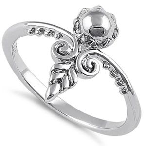 925 Silver Ancient Arrow Ring